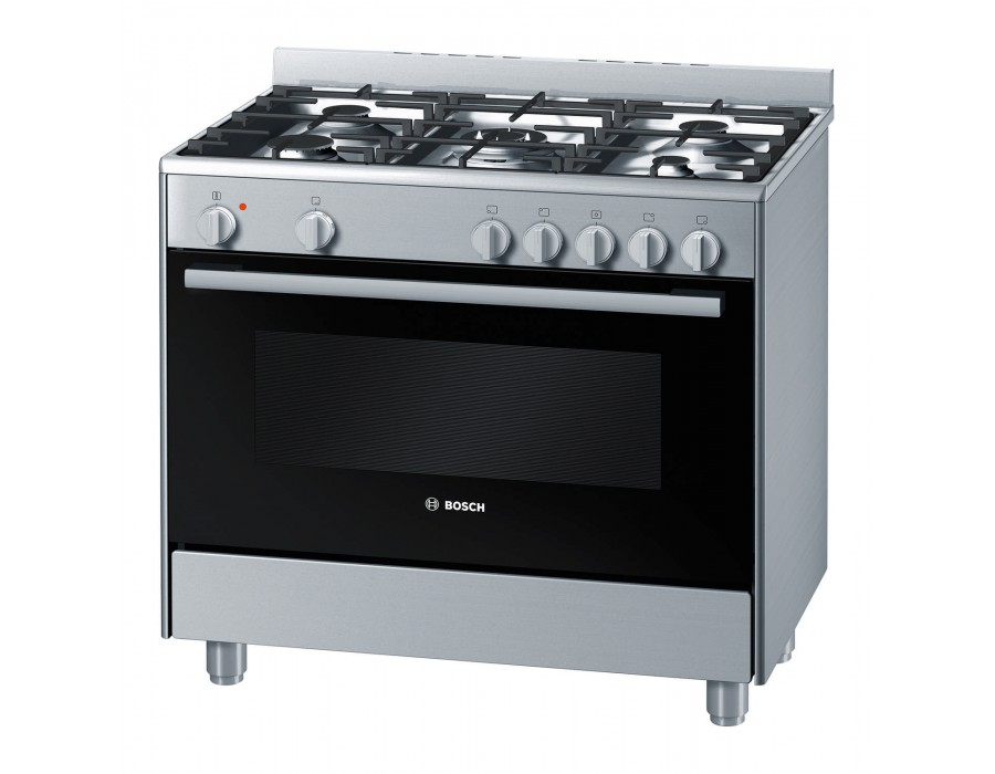 90CM FREESTANDING GAS/ELECTRIC COOKER HSB734357Z