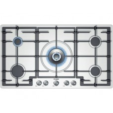 90 cm Gas hob, brushed steel PCR915B91E