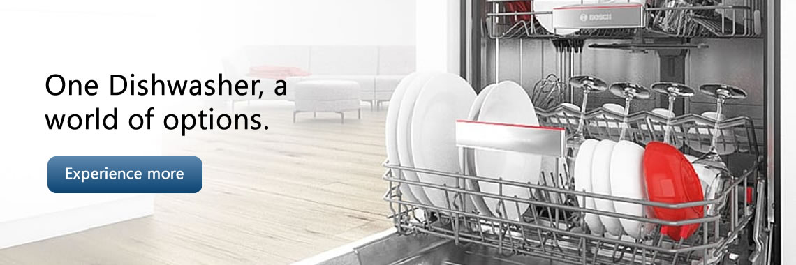 One Dishwasher, a world of options.